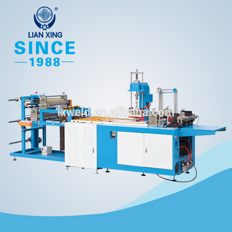 PVC plastic bag automatic production welding machine