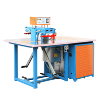 Small size raincoat high frequency welding machine