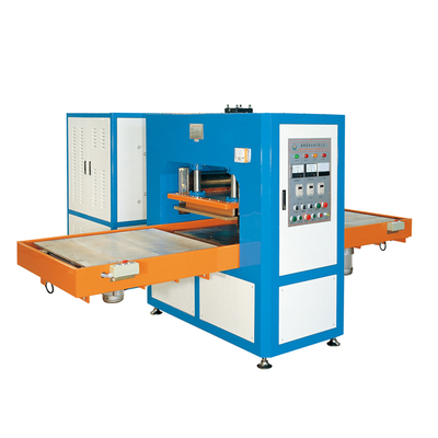 Automatic sliding table high frequency welding & cutting machine